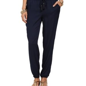 Lilly Pulitzer Navy Blue Piper Pants XL